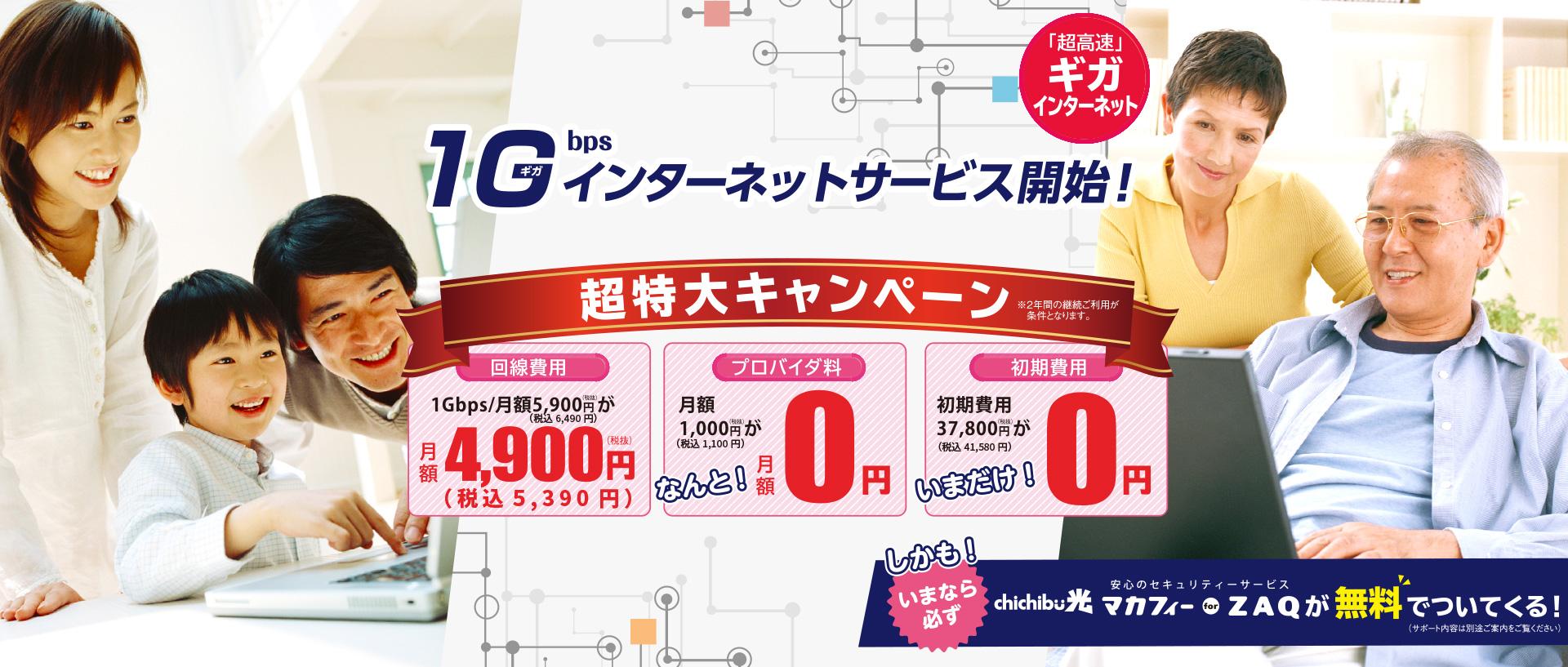 飯能日高テレビが運営するchichibu光では、1Gインターネットサービスの他、、au電話サービス、かけつけサポート、格安スマホなど、秩父地域の情報サービスを総合的にサポートしています。